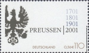 2162 300th anniversary of the founding of the Kingdom of Prussia