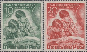 """80-81 Stamp Day, Exhibition """"Stamps of the World """""""