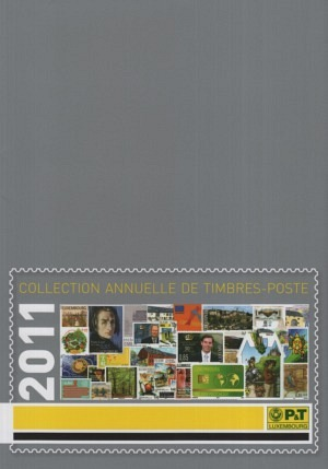 Luxembourg Yearbook Annual Collection 2011 mnh
