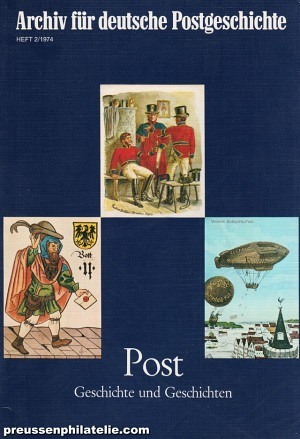 Archive for German Postal History 2/1974
