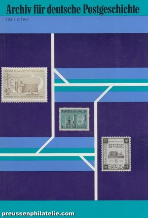 Archive for German Postal History 2/1976
